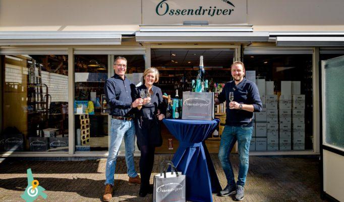 Wijnhandel Ossendrijver bestaat 25 jaar. De feestelijkheden zijn uitgesteld. Ieder klant krijgt wel een mooie bigshopper.